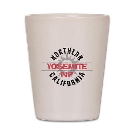Yosemite National Park Shot Glass
