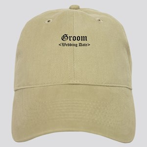 Groom (Type In Your Wedding Date) Cap