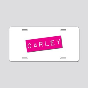 Carley Punchtape Aluminum License Plate