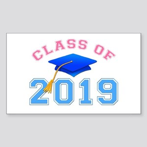 Class of 2019 Rectangle Sticker