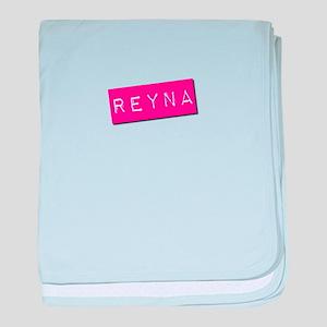 Reyna Punchtape baby blanket