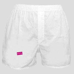 Kaya Punchtape Boxer Shorts