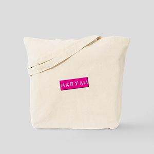 Maryam Punchtape Tote Bag