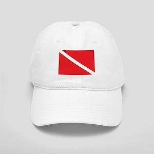 SCUBA DIVE FLAG Cap