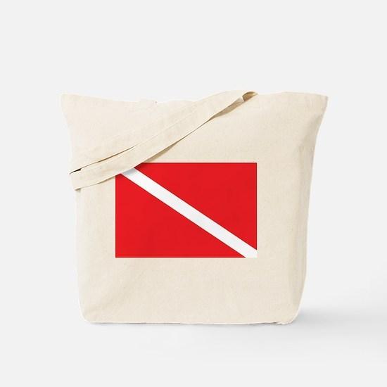SCUBA DIVE FLAG Tote Bag