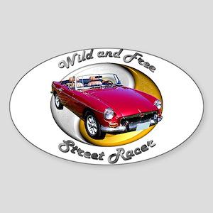 MGB Sticker (Oval 10 pk)