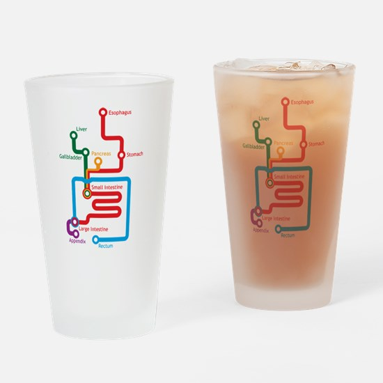 Charts Drinking Glass