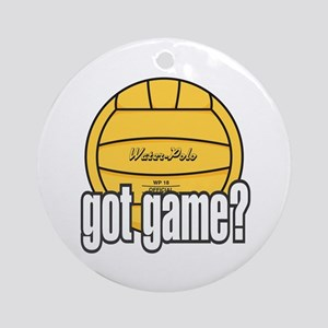 Water Polo Got Game? Ornament (Round)