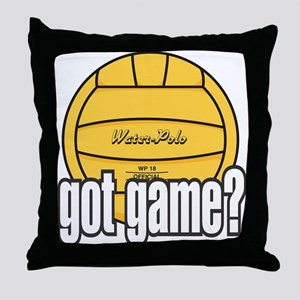 Water Polo Got Game? Throw Pillow