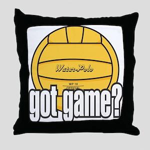 Water Polo Got Game? Throw Pillow