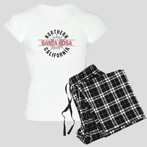 Santa Rosa California Women's Light Pajamas