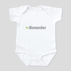iRemember Green Iwo Jima Infant Creeper