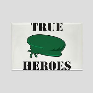 True Heros - Green Berets Rectangle Magnet