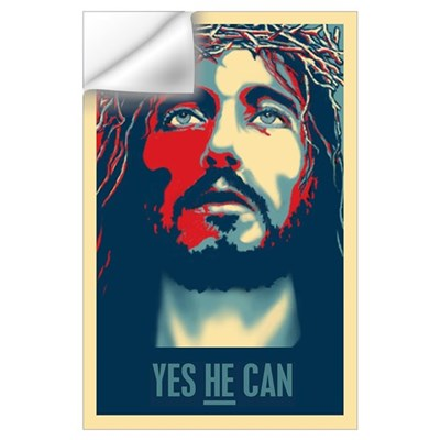 Yes HE Can Wall Decal