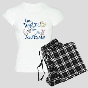 Vegan for Animals Women's Light Pajamas