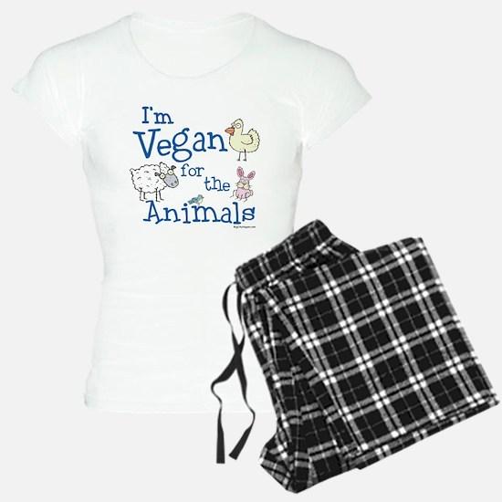 Vegan for Animals Pajamas