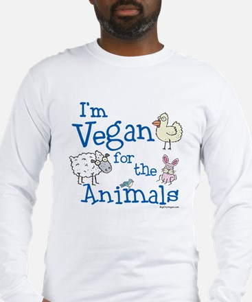 Vegan for Animals Long Sleeve T-Shirt