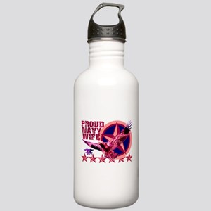 Proud Navy Wife Stainless Water Bottle 1.0L