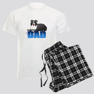 Border Collie Dad Men's Light Pajamas
