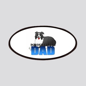 Border Collie Dad Patches