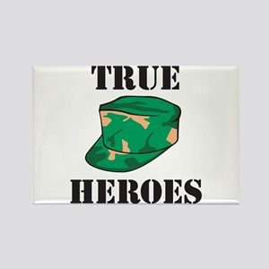 True Heros - Army Rectangle Magnet