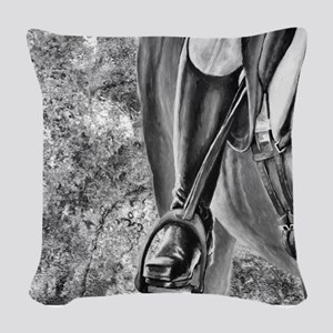 Stylin Boots. Woven Throw Pillow