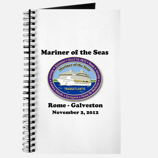 Unique Royal caribbean mariner ta Journal