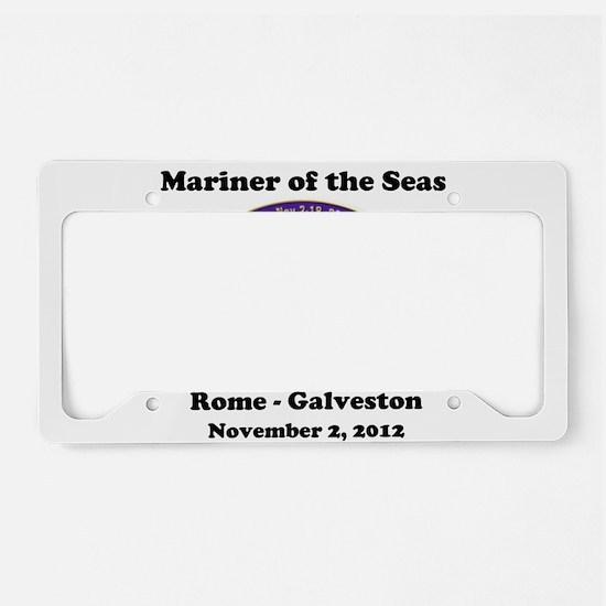 Funny Galveston License Plate Holder