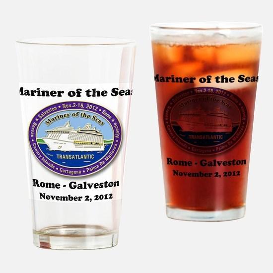 Cute Mariner Drinking Glass