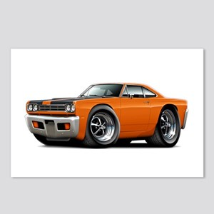 1969 Roadrunner Orange-Black Postcards (Package of