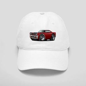 1969 Roadrunner Maroon-Black Cap