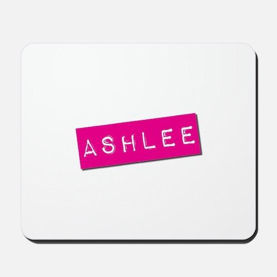 Ashlee Punchtape Mousepad