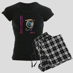 D-Lip #Egypt Women's Dark Pajamas