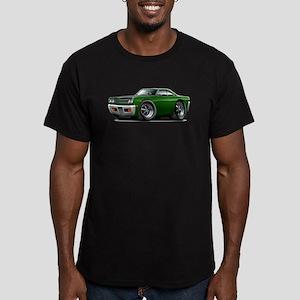 1969 Roadrunner Green-Black Men's Fitted T-Shirt (