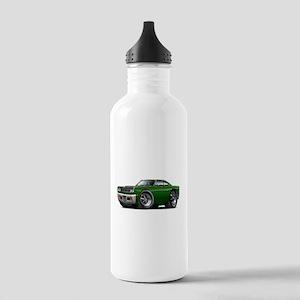 1969 Roadrunner Green-Black Stainless Water Bottle