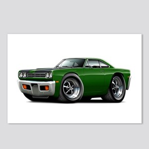 1969 Roadrunner Green-Black Postcards (Package of
