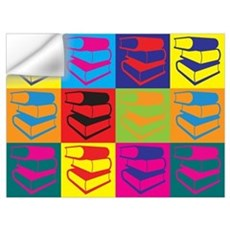 Library Work Pop Art Wall Decal