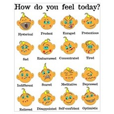 How do you feel today? II Poster