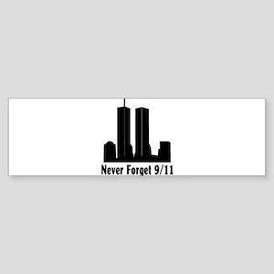 Never Forget Sticker (Bumper)
