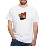 Firefighter Mom White T-shirt