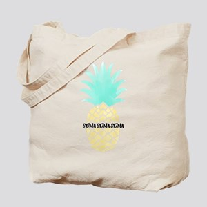 Sigma Sigma Sigma Pineapple Tote Bag