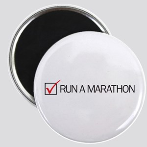 Run a Marathon Check Box Magnet
