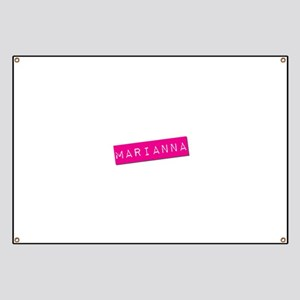 Marianna Punchtape Banner