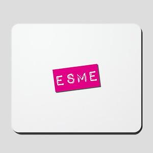 Esme Punchtape Mousepad