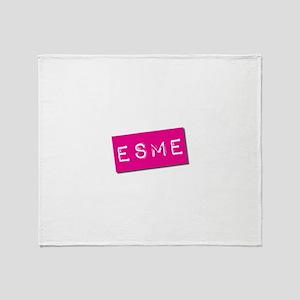 Esme Punchtape Throw Blanket