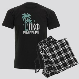 Pi Kappa Phi Palm Trees Men's Dark Pajamas