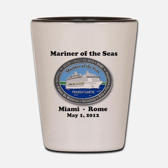 Unique Royal caribbean mariner ta Shot Glass