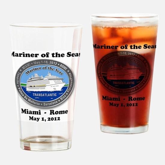 Funny Mariner Drinking Glass