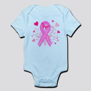 Pink Ribbon with Love Infant Bodysuit