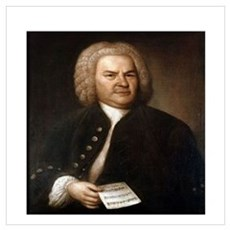 bach quotes Framed Print